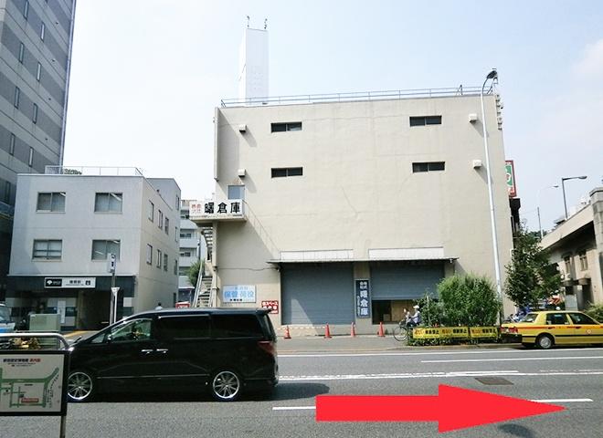 曙橋駅からの詳しい行き方2