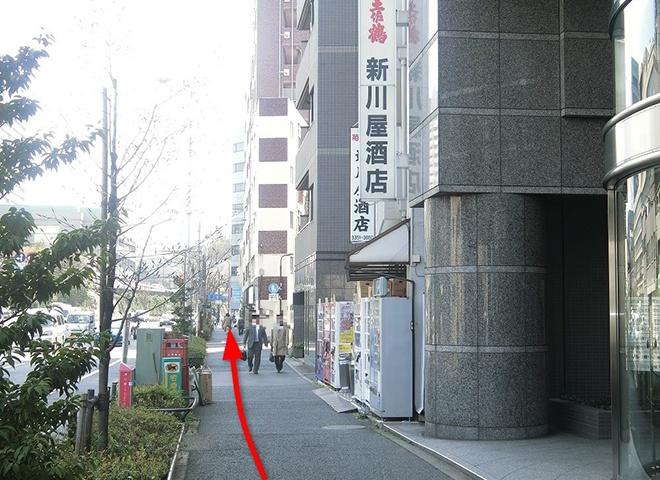 曙橋駅からの詳しい行き方4
