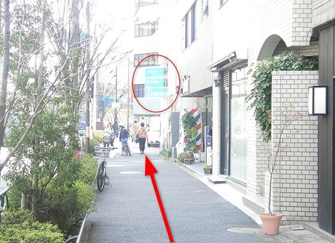 曙橋駅からの詳しい行き方5