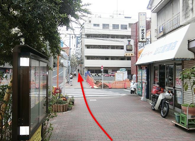 曙橋駅からの詳しい行き方8