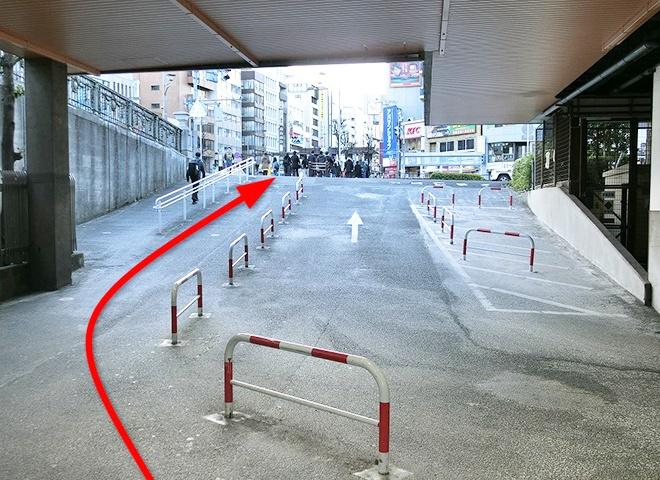 JR線 四ツ谷駅からの詳しい行き方3