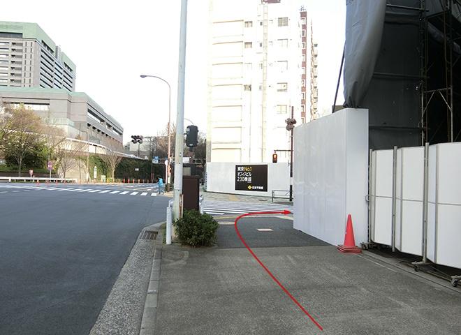 曙橋駅からの詳しい行き方6