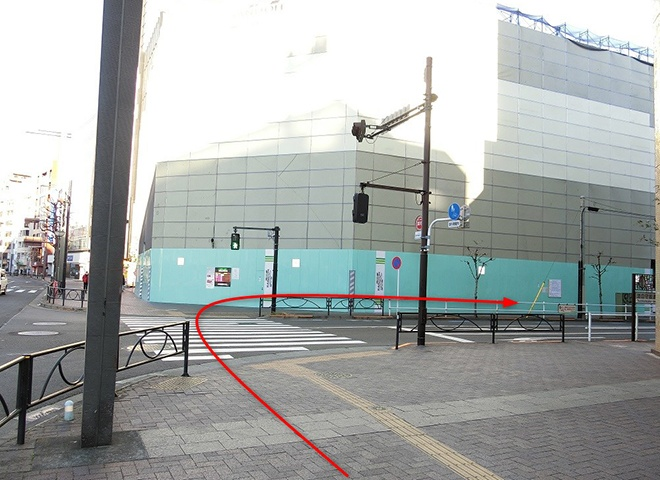 JR線 四ツ谷駅からの詳しい行き方11